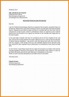Salary Increase Letter Example 6 Demand Letter For Salary Increase Sample Sales Slip