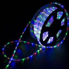 Led Rope Christmas Lights 100ft Led Rope Light Home In Outdoor Christmas Decorative