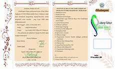 contoh undangan mursyid panger blog