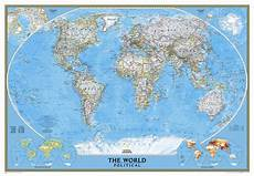 Geographic Map National Geographic Maps Mural World Map Amp Reviews Wayfair