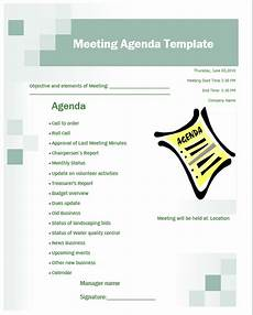 Business Meeting Template 12 Free Business Meeting Agenda Templates Word Templates