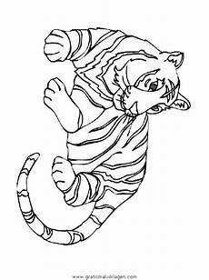 tiger 03 gratis malvorlage in tiere tiger ausmalen