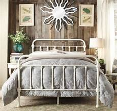antique white iron metal beds bed frame