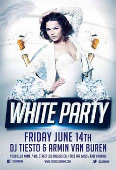 Free All White Party Flyer Template White Party Flyer Template Vol 1 For Photoshop