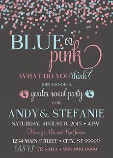 Free Printable Gender Reveal Invitations 10 Baby Gender Reveal Party Ideas Baby Shower