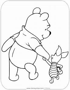 winnie the pooh piglet coloring pages disneyclips