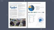 Annual Report Layout Design 20 Annual Report Designs For Your Inspiration