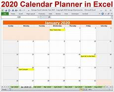 monthly planner 2020 2020 calendar year planner excel template 2020 monthly