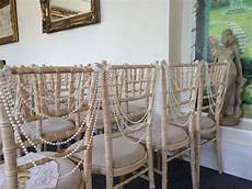 pearl drape wedding chair decorations to be used instead