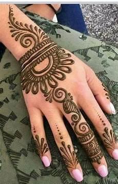 Hennagir Designs 121 Simple Mehndi Designs For Hands Easy Henna Patterns