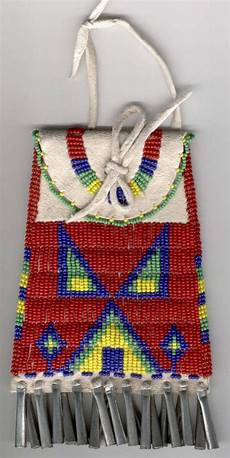 beadwork sioux 767 best medicine pipe pouch strike a lite bags images on