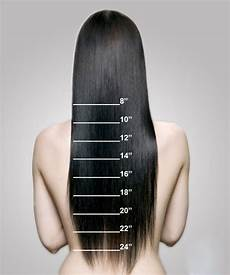 Length Hair Extensions Chart Length Chart How To Measure Your Extensions Length