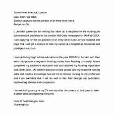 New Graduate Nurse Cover Letters Free 11 Education Cover Letter Templates In Ms Word Pdf