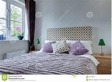 ladario moderno da letto particolare moderno della da letto fotografia stock