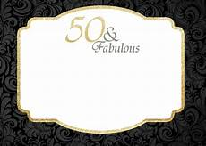 50th Birthday Party Invitation Template Free Printable 50th Birthday Invitations Template Drevio