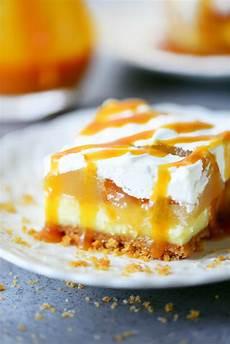 caramel apple cheesecake dessert recipe
