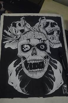 kranium tatovering gratis billeder tatovering sort kranium knogle kunst