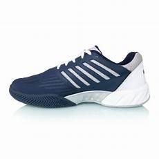 Light Tennis Shoes K Swiss Bigshot Light 3 Mens Tennis Shoes White Navy