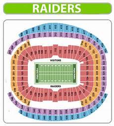 Raiders Tickets Seating Chart Raiders Saints Tickets Allegiant Stadium