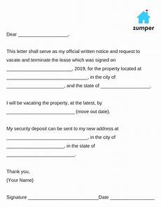 30 Day Notice To Move Out Letter How To Write A 30 Day Notice To Vacate Template