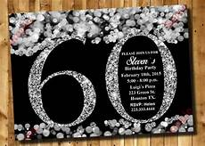 Free Printable 60th Birthday Invitations Templates 28 60th Birthday Invitation Templates Psd Vector Eps