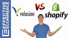 Volusion Vs Shopify Volusion Vs Shopify Pros And Cons Review Comparison Youtube