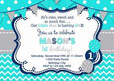Free Printable Party Invitations For Boys Boys Birthday Invitation Boys Party Invitation
