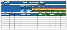 Risk Management Template Generating Value By Using A Risk Management Plan Value