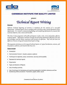 Technical Writing Example 10 Technical Report Writing Examples Pdf Examples