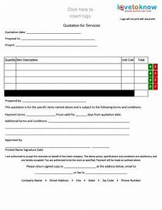 Contractor Quote Form Free Quote Forms For Contractors Lovetoknow