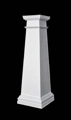 Composite Column Design Polystone 174 Composite Column Plain Square Tapered