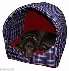 hooded pyramid cave igloo bed large for