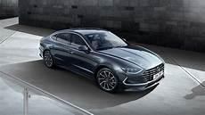 new york auto show 2020 hyundai 2020 hyundai sonata reveals striking new design ahead of