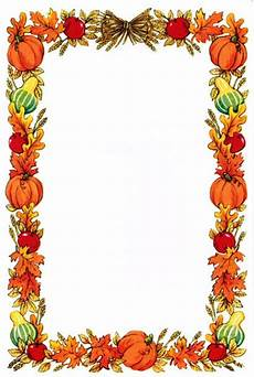 Free Fall Borders For Word Gallery For Gt Pumpkin Page Border Clip Art Borders Fall