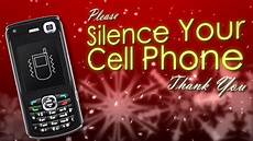 Silence Your Cell Phone Snow Silence Cell Phone Motion Graphics Youtube