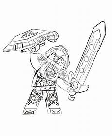 coloring page lego nexo knights clay ausmalbilder
