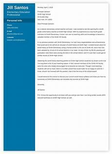 Cover Letter Teacher Template Teacher Cover Letter Examples Teaching Amp Education
