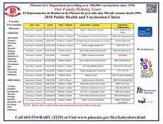 Immunization Chart For Babies In Nigeria Arizona Partnership For Immunization Where To Go For