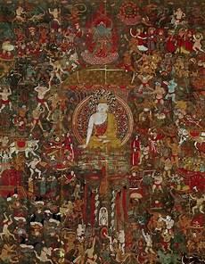 sakyamuni s temptation by mara fresco dunhuang caves