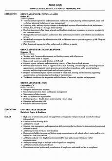 Administrative Assistant Duties For Resume Office Administration Resume Samples Velvet Jobs