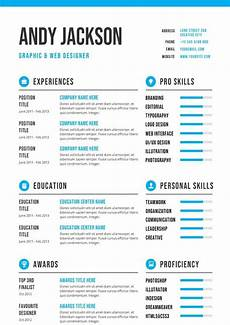 Downloadable Cv Format Professional Amp Clean Cv Template Download For Word