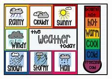Weather Chart For Preschool Classroom Printable Classroom Weather Chart Clothes Peg Chart Classroom