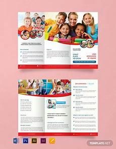 Downloadable Brochures 15 Free Educational Brochure Templates Word Psd