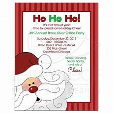 Office Christmas Party Invites Christmas Office Party Invitations