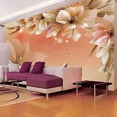 flower wallpaper modern aliexpress buy custom 3d photo wallpaper modern