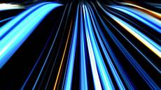 Blue Line Profile Pic Abstract Neon Wave Lines On Dark Background Youtube