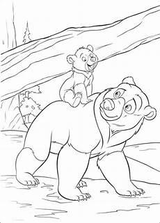 Malvorlagen Frozen Jungle Animal Bears Jungle Book Coloring Page