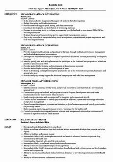 Pharmacy Manager Resume Manager Pharmacy Resume Samples Velvet Jobs