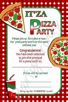 Party Invite Maker Free Pizza Party Flyer Templates