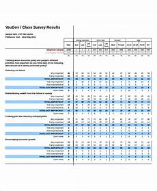 Sample Questionnaire Excel Format Excel Survey Template Template Business